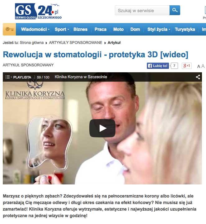 Rewolucja w Stomatologii – protetyka 3D